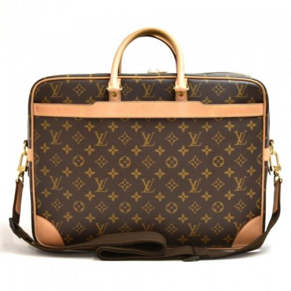 Louis Vuitton Porte Documents Voyage GM Monogram C...