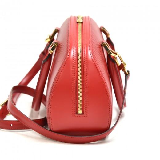 Vintage Louis Vuitton Jasmin Red Epi Leather Handbag