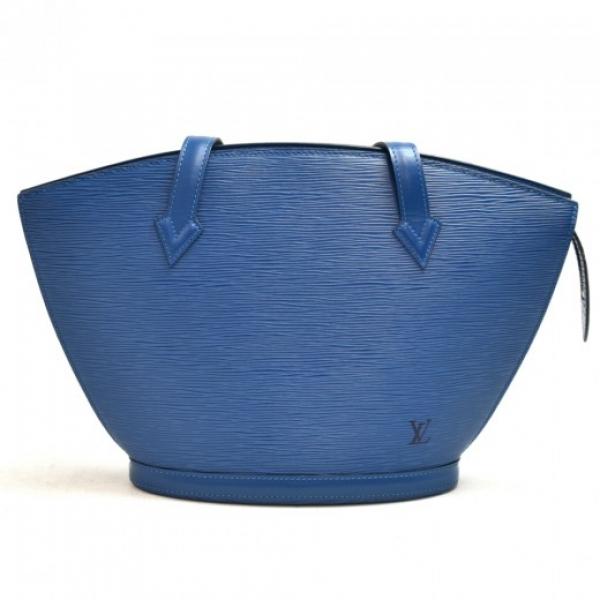 Vintage Louis Vuitton Saint Jacques PM Blue Epi Le...