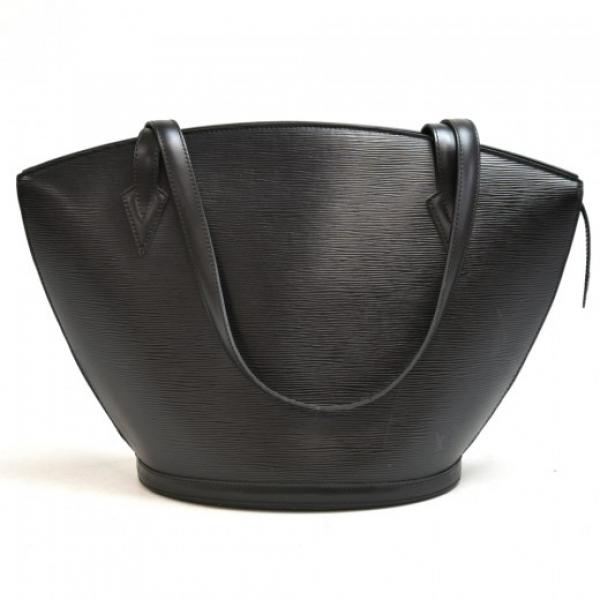 Vintage Louis Vuitton Saint Jacques GM Black Epi L...