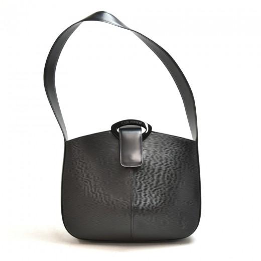 Vintage Louis Vuitton Reverie Black Epi Leather Sh...