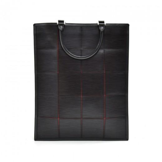 Louis Vuitton Silver Fizz Epi Stretch Line Black E...