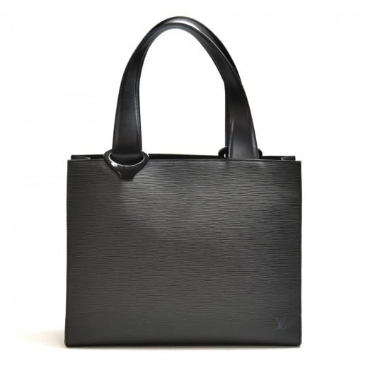 Louis Vuitton Jemo Black Epi Leather Shoulder Tote...