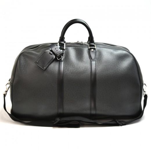 Vintage Louis Vuitton Kendall GM Black Taiga Leath...