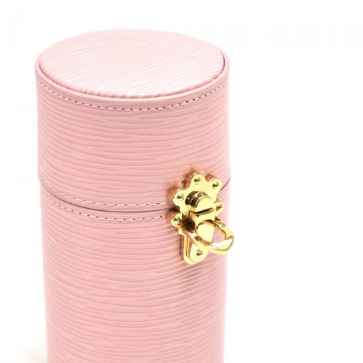 Louis Vuitton Pink Epi Leather 100ml Travel Case