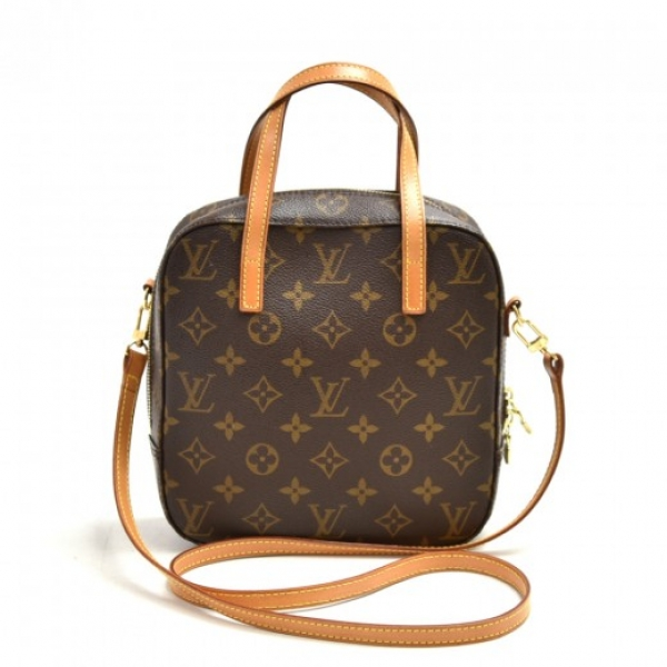 Louis Vuitton Spontini Monogram Canvas Hand Bag + ...
