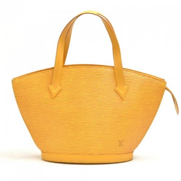 Vintage Louis Vuitton Saint Jacques PM Yellow Epi ...