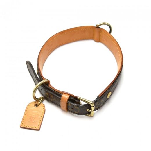 Louis Vuitton Laisse Baxter MM Monogram Canvas Dog Leash