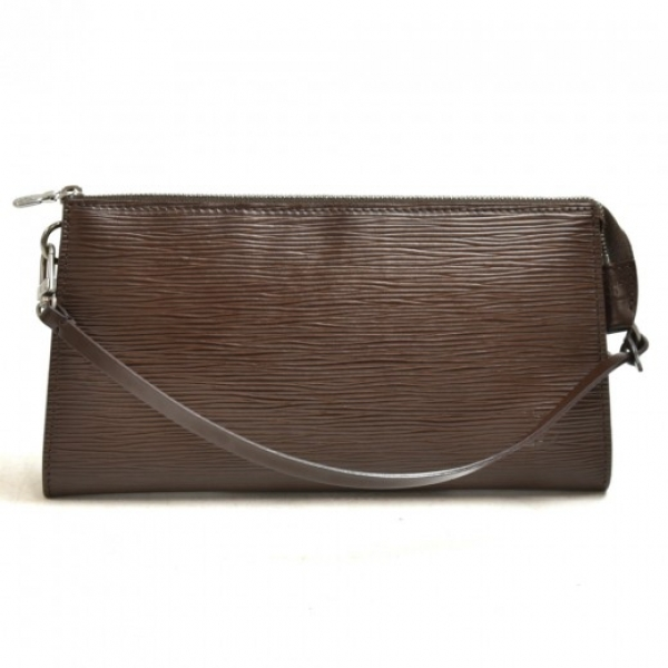 Louis Vuitton Pochette Accessories Brown Moca Epi ...
