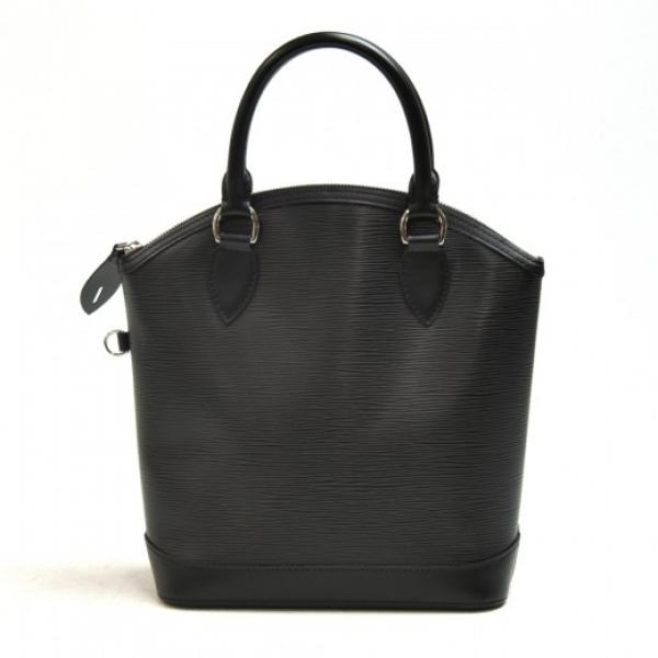 Louis Vuitton Lockit Black Epi Leather Handbag