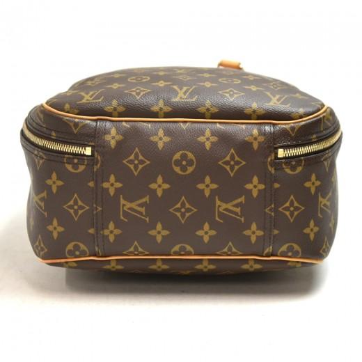 Vintage Louis Vuitton Excursion Monogram Canvas Travel Handbag