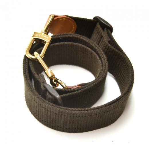 Louis Vuitton Brown Canvas Adjustable Shoulder Strap For  Bags