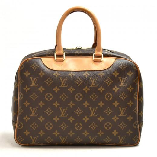 Louis Vuitton Deauville Monogram Canvas Hanbag