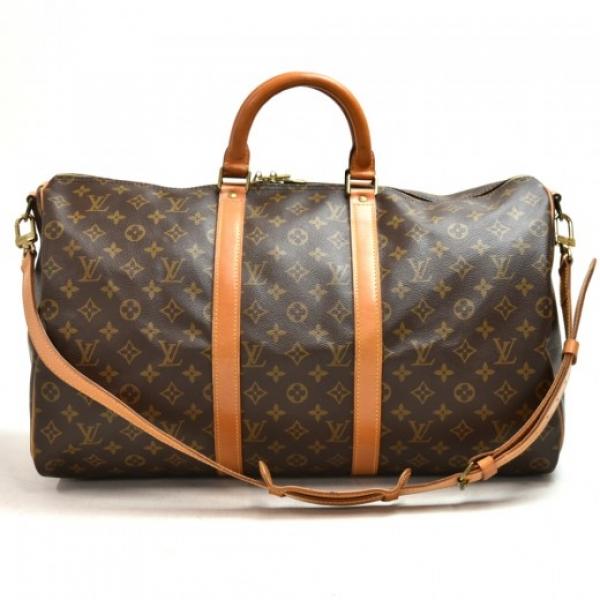 Vintaeg Louis Vuitton Keepall 50 Bandouliere Monog...