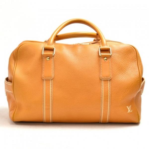 Louis Vuitton Carryall Orange Tobago Leather Trave...