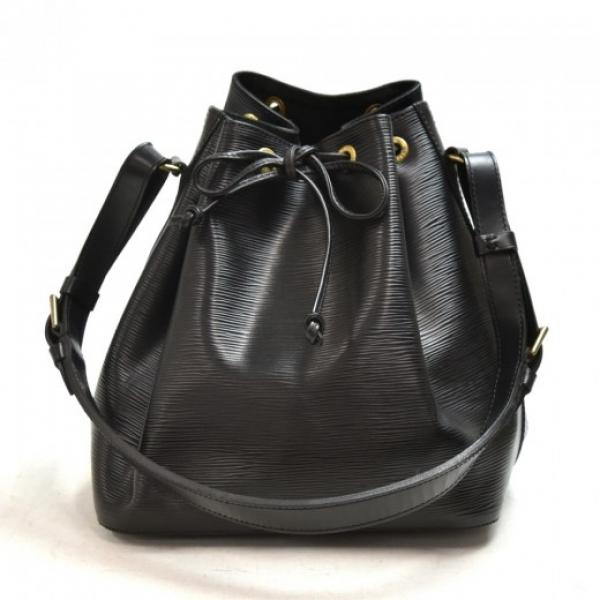 Vintage Louis Vuitton Petit Noe Black Epi Leather ...
