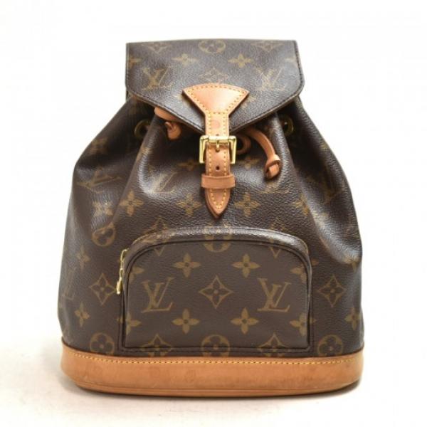 Vinage Louis Vuitton Mini Montsouris Monogram Canv...