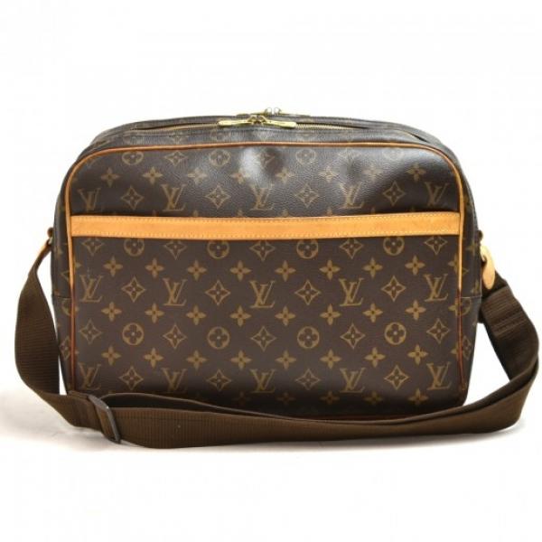 Louis Vuitton Reporter GM Monogram Canvas Shoulder...